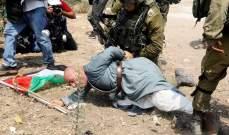 الجيش الإسرائيلي يعتدي على مسن فلسطيني شمالي الضفة