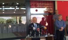 زعيتر: منطقة البقاع مسؤولية الدولة ومسؤوليتنا لانها قدمت وتحملت الكثير