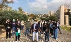 الاساتذة المتعاقدون مع وزارة التربية في كسروان وجبيل أعلنوا استمرار الاضراب