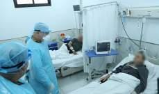 قائد الجيش تفقد مرضى الكورونا في المستشفى العسكري المركزي