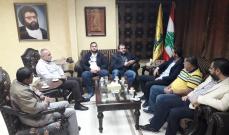 """الشيخ ضاهر التقى وفدا من """"تيار الفجر"""": للإسراع بتشكيل حكومة سيادية وطنية"""