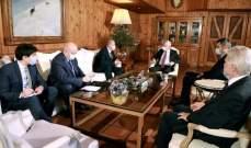 فرنجيه استقبل السفير الروسي الجديد وبحث معه العديد من القضايا الراهنة