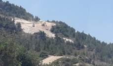 النشرة: الجيش الاسرائيلي يواصل شق طريق عسكري مقابل بلدة العديسة الجنوبية