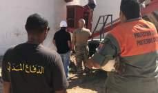 الدفاع المدني: نواصل تنفيذ المهام الموكلة إلينا في مرفأ بيروت