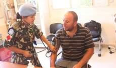 الكتيبة النيبالية في اﻟﻴﻮﻧﻴﻔﻴﻞ تقوم بحملة طبية في ميس الجبل