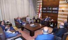 الحريري استقبل وفد اتحاد جمعيات العائلات البيروتية وآخر من تجمع الصناعيين