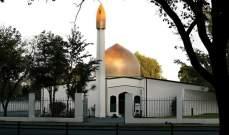 المصلون يعودون إلى مسجد النور في كرايست تشيرش بنيوزيلندا بعد الاعتداء الإرهابي