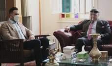 تيمور جنبلاط استقبل السفير المصري ياسر علوي وعرض للمستجدات السياسية