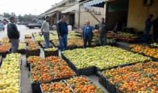 تجمع مزارعي الجنوب: فتح معبر نصيب يسهل تصدير منتجاتنا