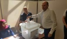 النشرة: سليم عون يدلي بصوته ويؤكد أن شعاره دعم العهد