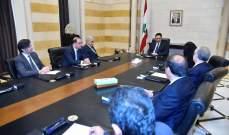 دياب التقى وفد جمعية المصارف واتفاق على ان تخصص المصارف 6 ملايين دولار لشراء 120 جهاز تنفس