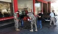 النشرة: دوريات للأمن العام على محطات المحروقات في النبطية للتأكد من البيع بالسعر الرسمي