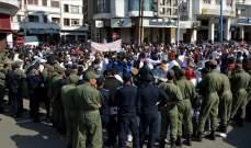 عشرات المغاربة تظاهروا في الدار البيضاء تنديدا بسياسات حكومة البلاد