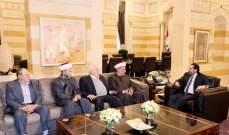 الحريري استقبل جمعية مهندسي البترول ومفتي حاصبيا والقاضي حمود