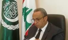 فتوح: الجامعة العربية تنسق مع اتحاد المصارف لاطلاق حساب دعم للبنان