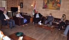 محافظ لبنان الشمالي: لوجوب التشديد على المواطنين الالتزام بارتداء الكمامة وتفادي التجمعات