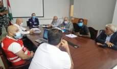 خضر ترأس اجتماعا لتجهيز 5 مراكز للحجر الصحي في محافظة بعلبك الهرمل
