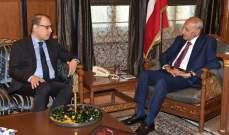النجاري زار بري: اطلعنا على جهوده الحثيثة للحفاظ على استقرار لبنان السياسي