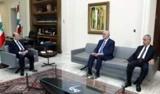 الرئيس عون يلتقي النائب علي حسن خليل ممثلاً لكتلة التنمية والتحرير
