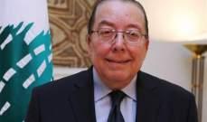 المشنوق: من أبرز أهداف الحكومة الانقاذية تجاوز المخاطر المالية والمعيشية