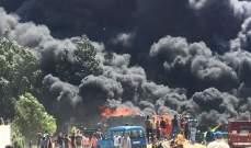 النشرة: الدفاع المدني يهمد حريقا شبّ بمستودع لتخزين الاقفاص البلاستيكية في قب الياس