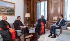 الفاتيكان: مبعوث للبابا التقى الأسد وعبر عن المخاوف من الوضع الإنساني بسوريا