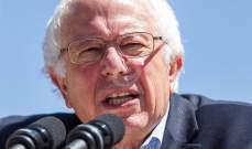 ساندرز: أنا مؤيد لإسرائيل لكن يتعين علينا أن نتعامل مع الفلسطينيين بالاحترام