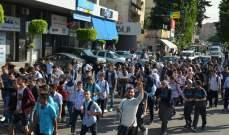 """""""النشرة"""": طلاب مدارس بصيدا ينظمون وقفة احتجاجية تضامنا مع الحراك"""