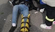 الدفاع المدني: نقل جريح لمستشفى سرحال بعد تعرضه لحادث سير بالمتن