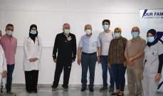 النشرة: وقفة تضامنية بمستشفى الراعي تنديداً بالاعتداءات التي طالت المؤسسات الطبية