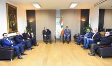 اللواء عثمان استقبل وفداً من جمعية تجّار بدارو