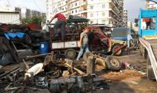 شرطة بلدية طرابلس ازالت المخالفات والتعديات في التبانة