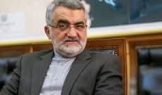 بروجردي: محاولة ربط إيران بالحادث الإرهابي في مكة شيطنة خرقاء