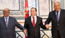 """شكري: المجتمع الدولي يرصد تمويل """"الميليشيات"""" المسلحة في ليبيا"""