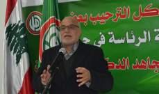 خليل حمدان: محاولات البعض أخذ البلد إلى الهاوية ما زالت قائمة