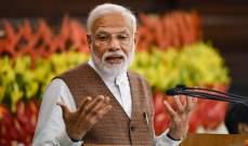 رئيس الوزراء الهندي أدى اليمين في مستهل ولايته الثانية