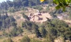 النشرة: ورشة إسرائيلية استأنفت أعمال الحفر مقابل العديسة بظل حماية أمنية