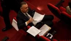 حبيش: اقتراح قانون العفو لم يسحب بالكامل وإذا حصل توافق عليه سيطرح في جلسة بعد الظهر