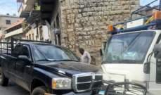 النشرة: 4 إصابات نتيجة حادث سير في سوق حاصبيا الرئيسي