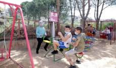 تجهيز وتأهيل حديقة عامة في إبل السقي عبر خطة وزارة الشؤون واليونيسيف