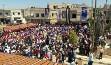 النشرة: عودة عشرات العائلات السورية المهجرة إلى منازلها في مدينة القصي