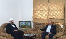 احمد  قبلان بحث والنائب حسين في الاضاع العامة: لتشكيل حكومة إنقاذ