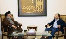 النشرة: باسيل التقى السيد نصرالله بعد ظهر أمس والحريري في وقت لاحق