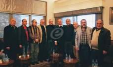 وزير المال علي حسن خليل استقبل المهنئين بتشكيل الحكومة