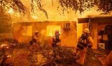 ارتفاع حصيلة ضحايا الحرائق في كاليفورنيا إلى 23 قتيلاً