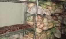 الجيش: دهم مستودعات وملحمة في الهرمل وضبط كمية كبيرة من اللحوم الفاسدة