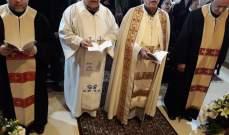 الاب نمور ترأس قداس عيد مار انطونيوس في النبطية
