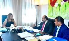 عقيص وسعد بعد لقائهما وزيرة العدل: لن نقبل أن يتحول لبنان إلى دولة بوليسية