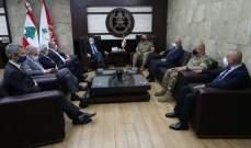 قائد الجيش بحث مع بوريل أوضاع لبنان والمنطقة