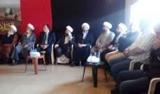 تشكيل وفد من بلدة لاسا لوضع الامير قبلان بقرارات لجنة الاوقاف الشيعية